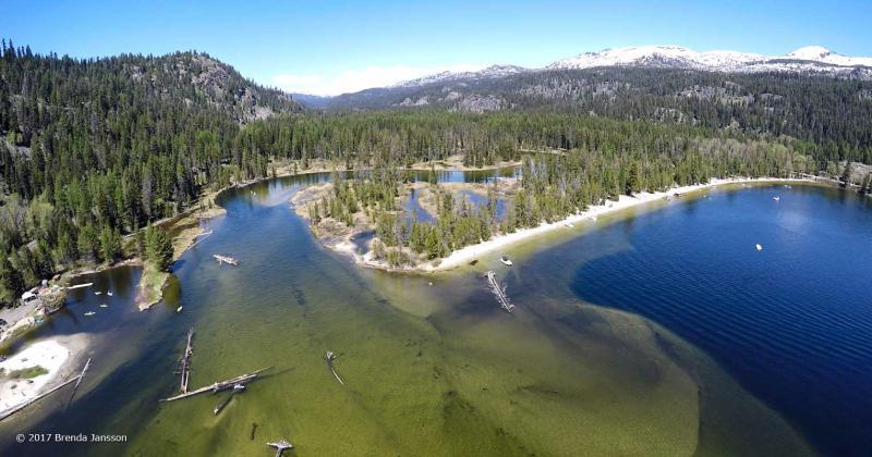 Payette Lake North Beach, McCall Idaho