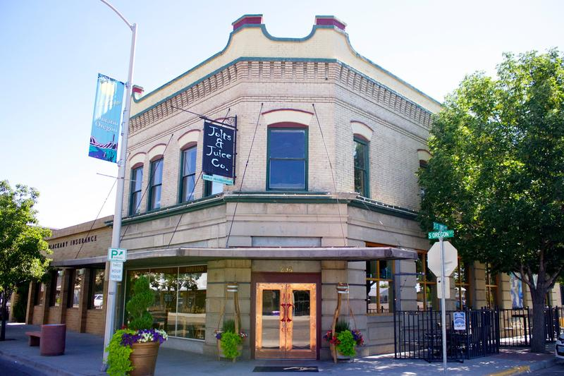 Jolts & Juice is located in historic downtown Ontario and offers both beer and coffee.