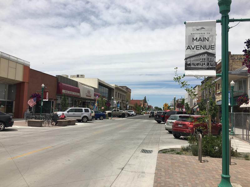 Twin Falls' Main Avenue got a facelift using Urban Renewal Agency money. Next up, the city will convert an old thrift store into a multi-use building on Main, with several apartments on the third and fourth floors.