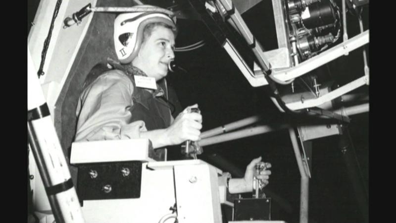 Jerrie Cobb in testing.