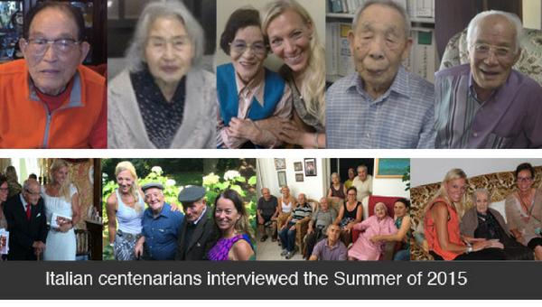 Centanarians interviewed by SeAnne Waite