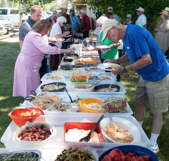 Folks in Camas County have been coming together for a picnic potluck since 1913.