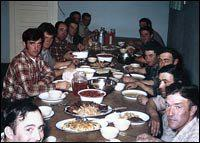 The Basque boarding house was a meeting and resting place for herders who had no other home. Meals were served family style and the owners often would do what they could to help the young men adapt to life in the United States.