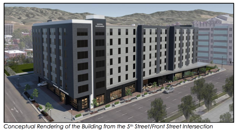The new hotel will add 138 rooms to Boise's hotel stock.