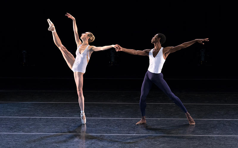 Isabella Boylston and Calvin Royal III perform for Ballet Sun Valley in 2017.