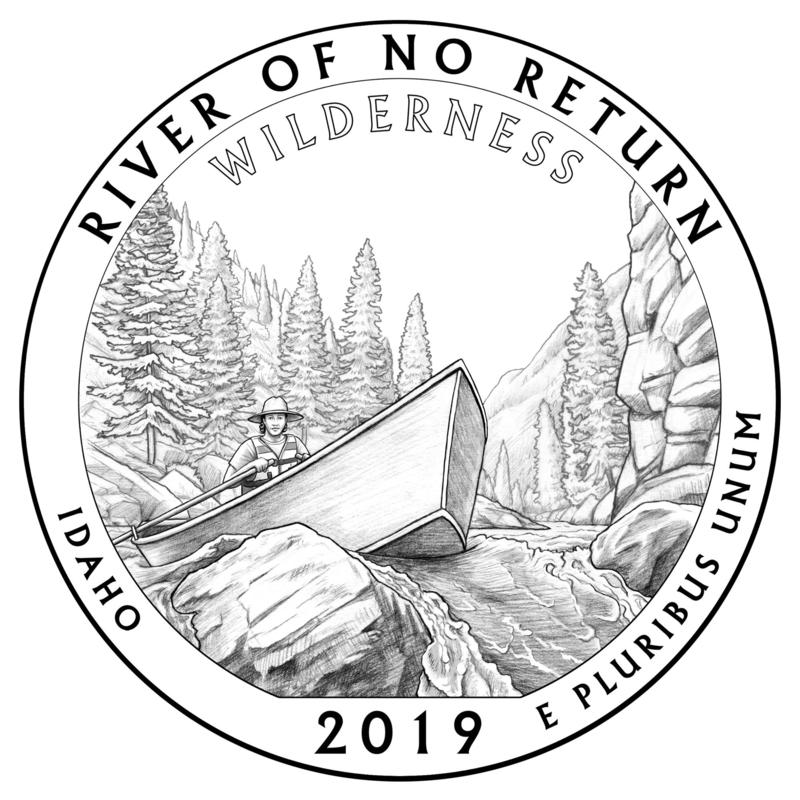 Idaho's Frank Church River of No Return Wilderness will be memorialized in its own quarter beginning in November 2019.