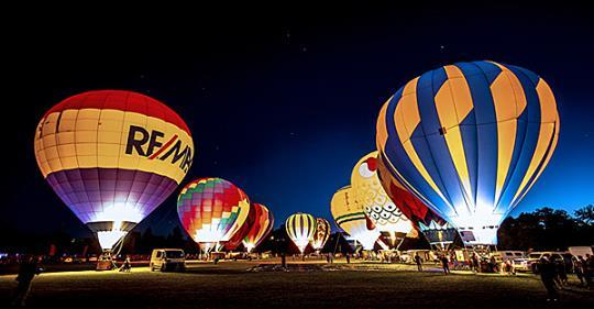 """2017 Spirit of Boise Balloon Classic """"Glow in the Park"""""""