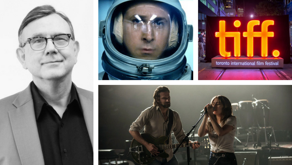 """Boise Weekly Film Critic (and Boise State Public Radio host) George Prentice / Ryan Gosling as Neil Armstrong in """"First Man"""" / Toronto International Film Festival / Bradley Cooper and Lady Gaga in """"A Star Is Born."""""""