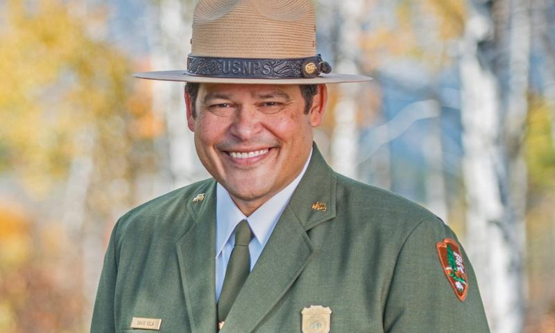 David Vela is the Trump Administration's nominee for director of the National Park Service. Vela has a 28-year career with the agency.
