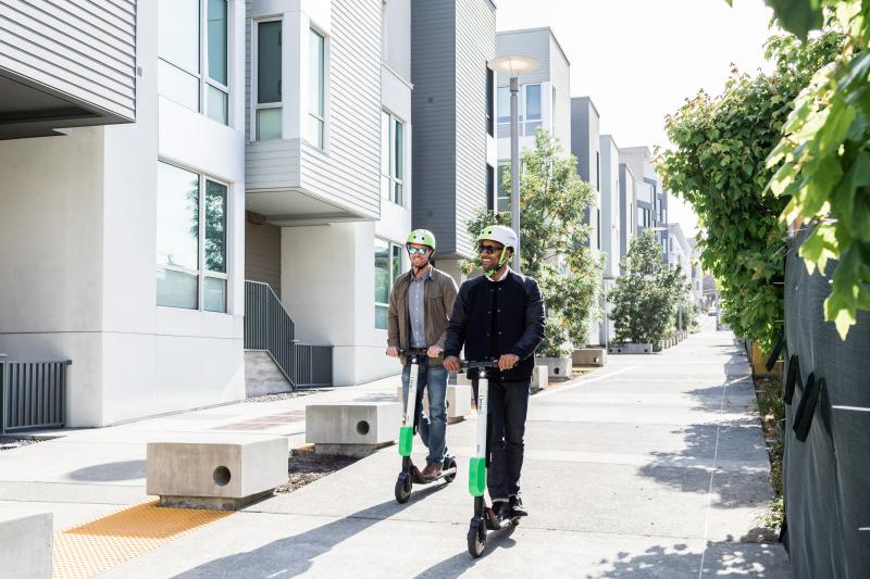 Lime-S scooters are now available in Idaho's second-largest city.