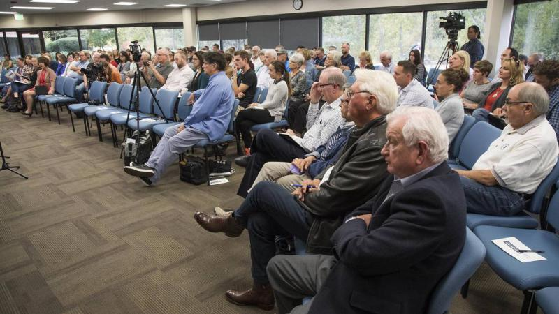 About 170 people attended the October, 2018 forum on growth in the Treasure Valley.