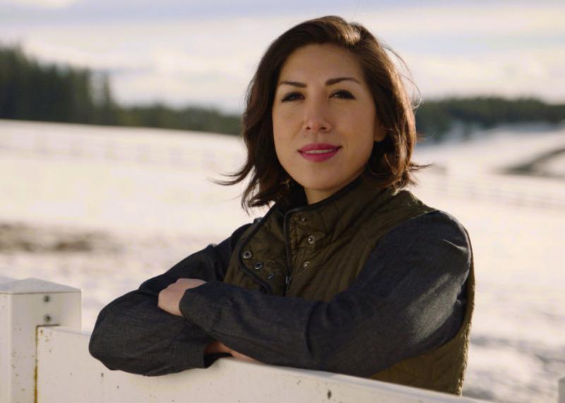 Idaho Democratic gubernatorial candidate Paulette Jordan