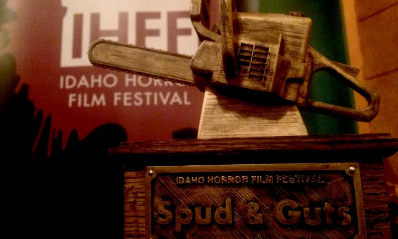 The Spud & Guts Award acknowledges excellence in Idaho horror film production.