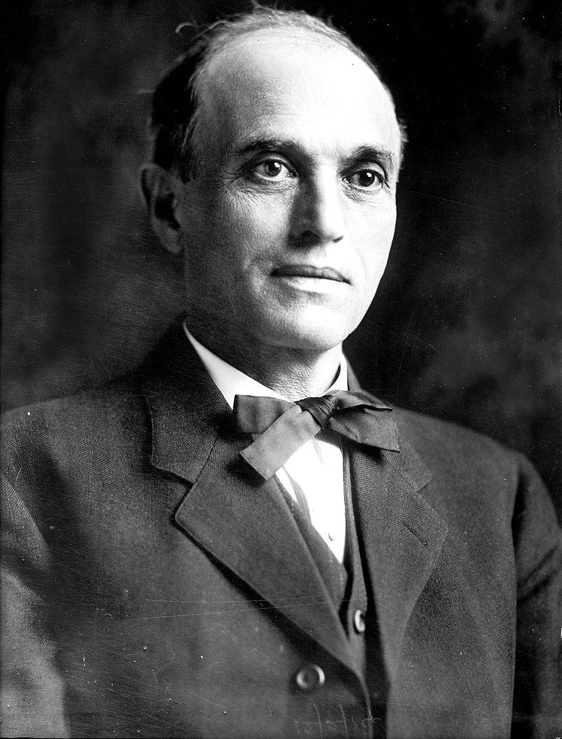 Moses Alexander, Idaho and America's first Jewish governor, from 1915 to 1919.