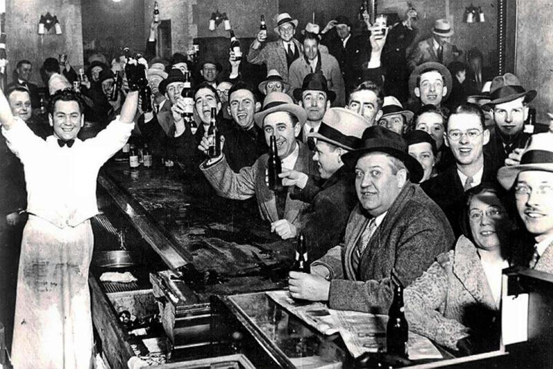 The night Prohibition ended - December 5, 1933.