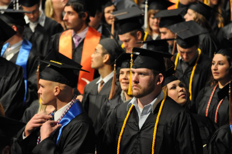 Boise State University Winter 2011 Commencement.