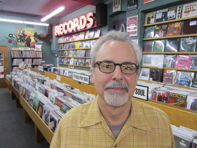 Michael Bunnell started The Record Exchange in 1977.  He still owns it.