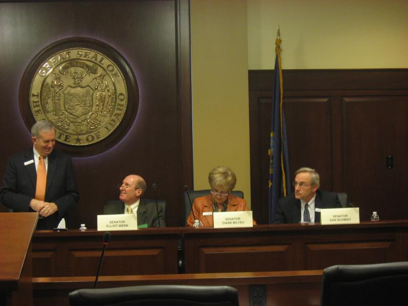 Idaho Senate Ethics Panel Members:  Chairman Dean Mortimer (R-Idaho Falls), Sen. Elliot Werk (D-Boise), Sen. Diane Bilyeu (D-Pocatello), Sen. Dan Schmidt (D-Moscow)
