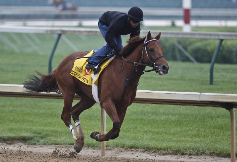 Rousing Sermon has created a buzz in Idaho heading in to the Kentucky Derby.  Those in Louisville, though, say the underdog is off the radar.