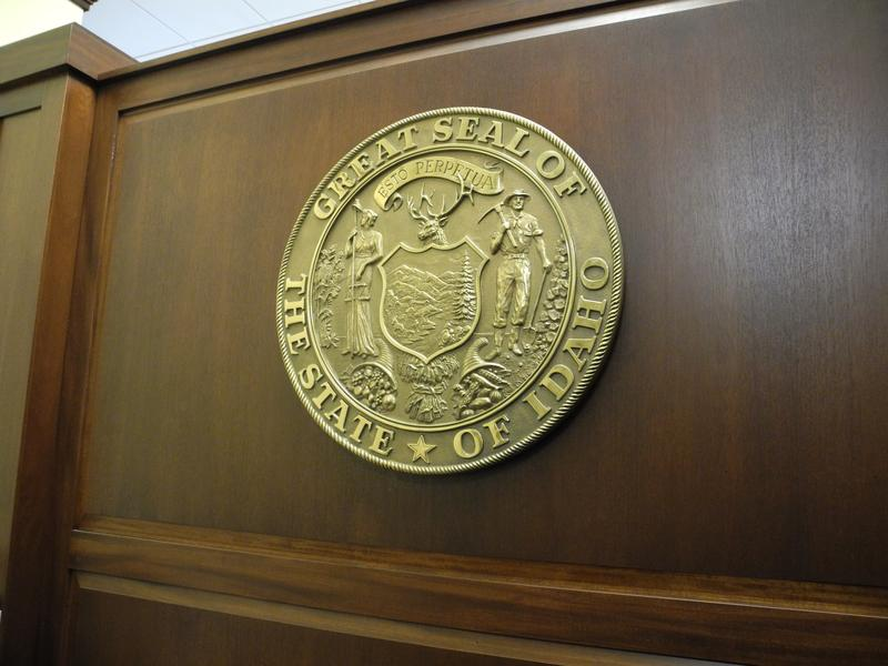 Ada County Statehouse Capitol Building Great Seal of Idaho