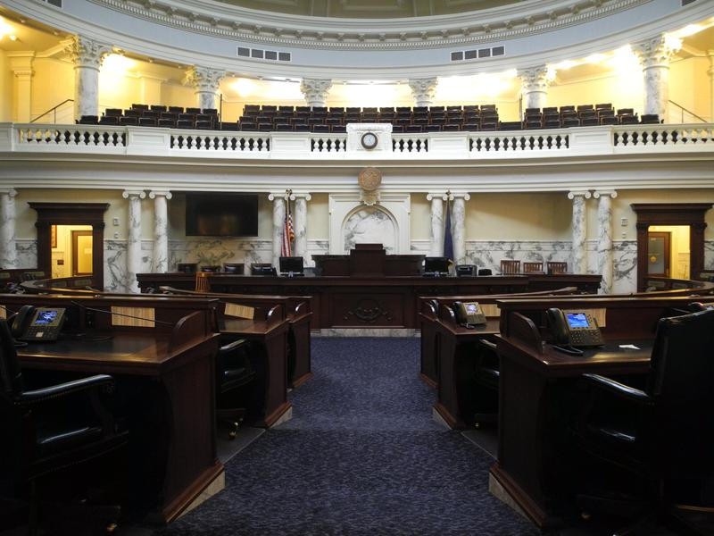Ada County Statehouse Capitol Building House Chambers