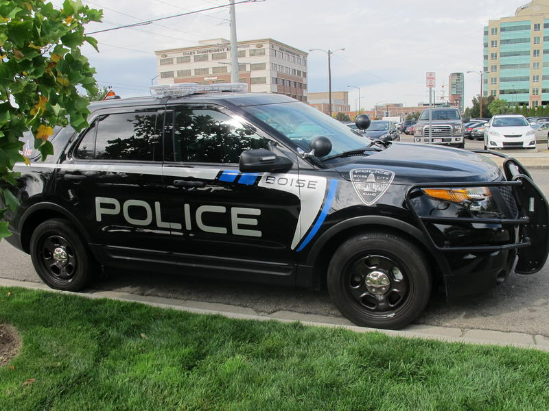 Boise Police Department Cop Car