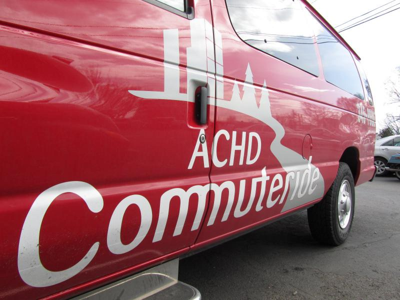 ACHD Commuteride's Big Red