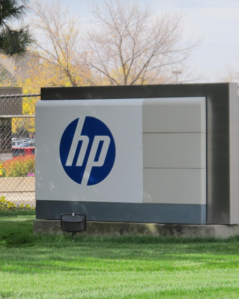 HP Entrance Hewlett Packard Logo