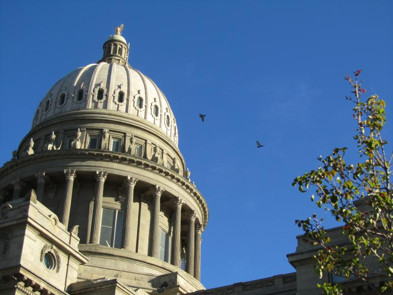 File photo of Idaho statehouse.