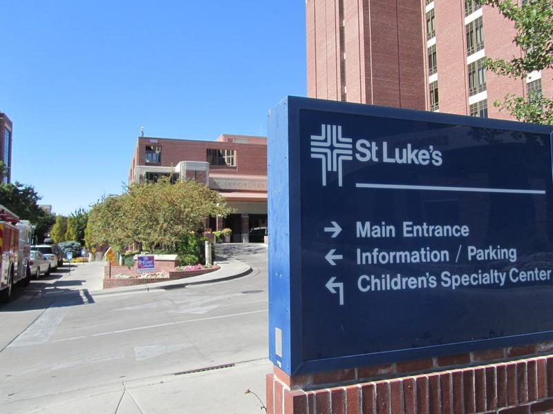 St Luke's Hospital Main Entrance