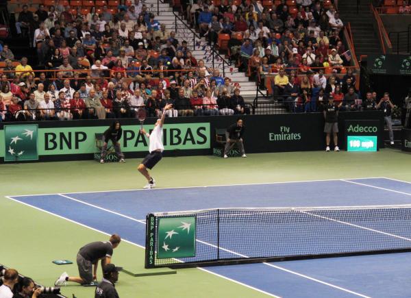 Davis Cup -- John Isner