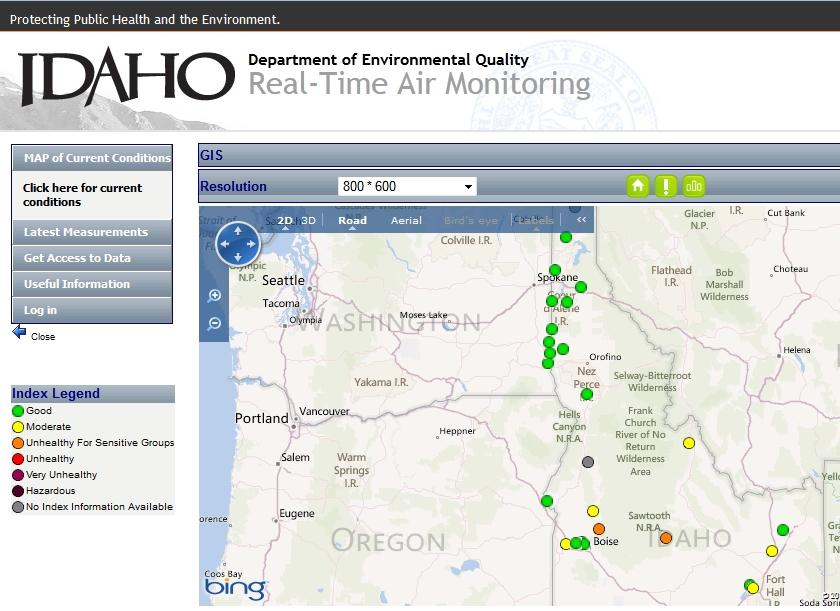 Unhealthy\' Air Quality Expected For Much Of Southern Idaho | Boise ...