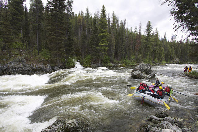 People Sickened While Rafting Working On The Middle Fork