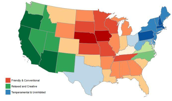 Quiz: Do You Belong In Idaho? Researchers Map U.S. Personality ...