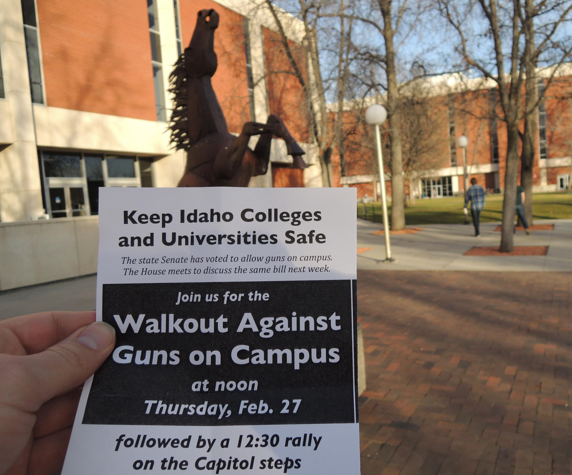 Essay about guns on campus