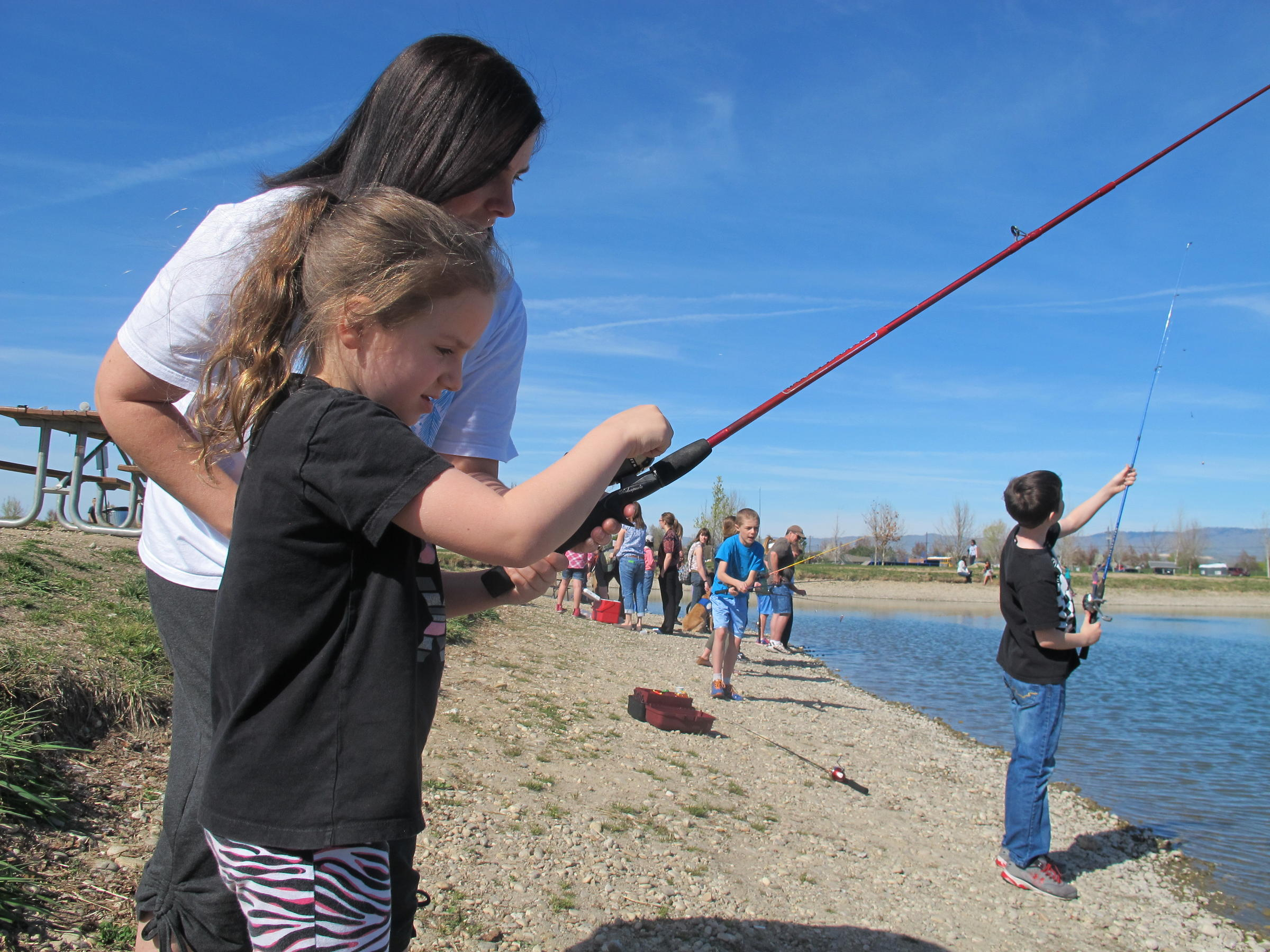 Idaho fish and game events aim to get more kids hooked on for Fishing in boise idaho