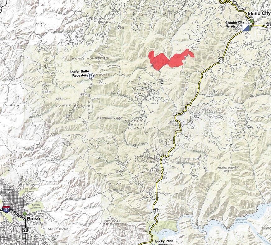 Fire Near Idaho City Burns Cabins, Brings Smoke To Treasure Valley
