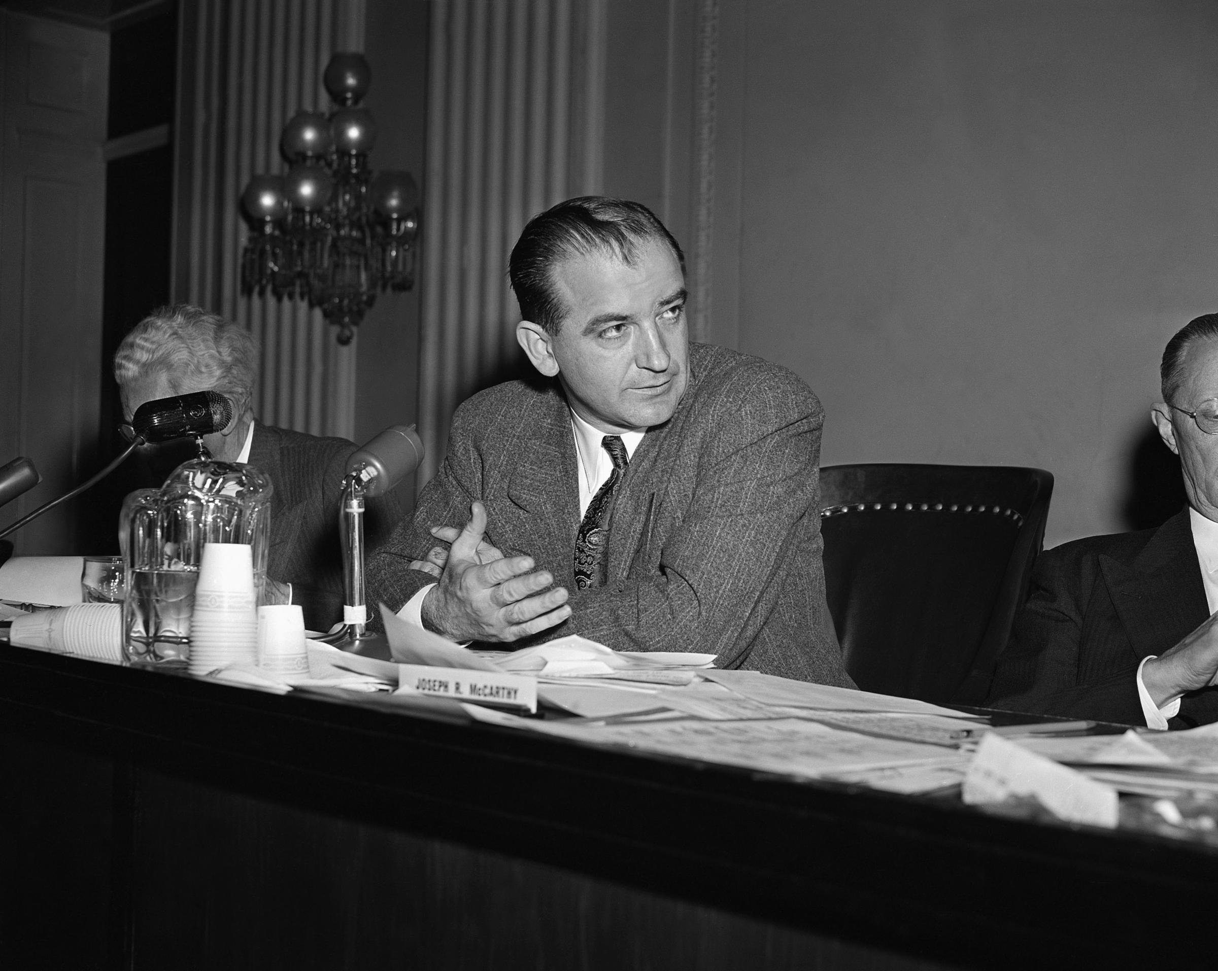 joseph mccarthy thesis Edgar f codd edgar ted codd born: edgar frank codd 19 august 1923 angered by senator joseph mccarthy, codd moved to ottawa his thesis was about self-replication in cellular automata.