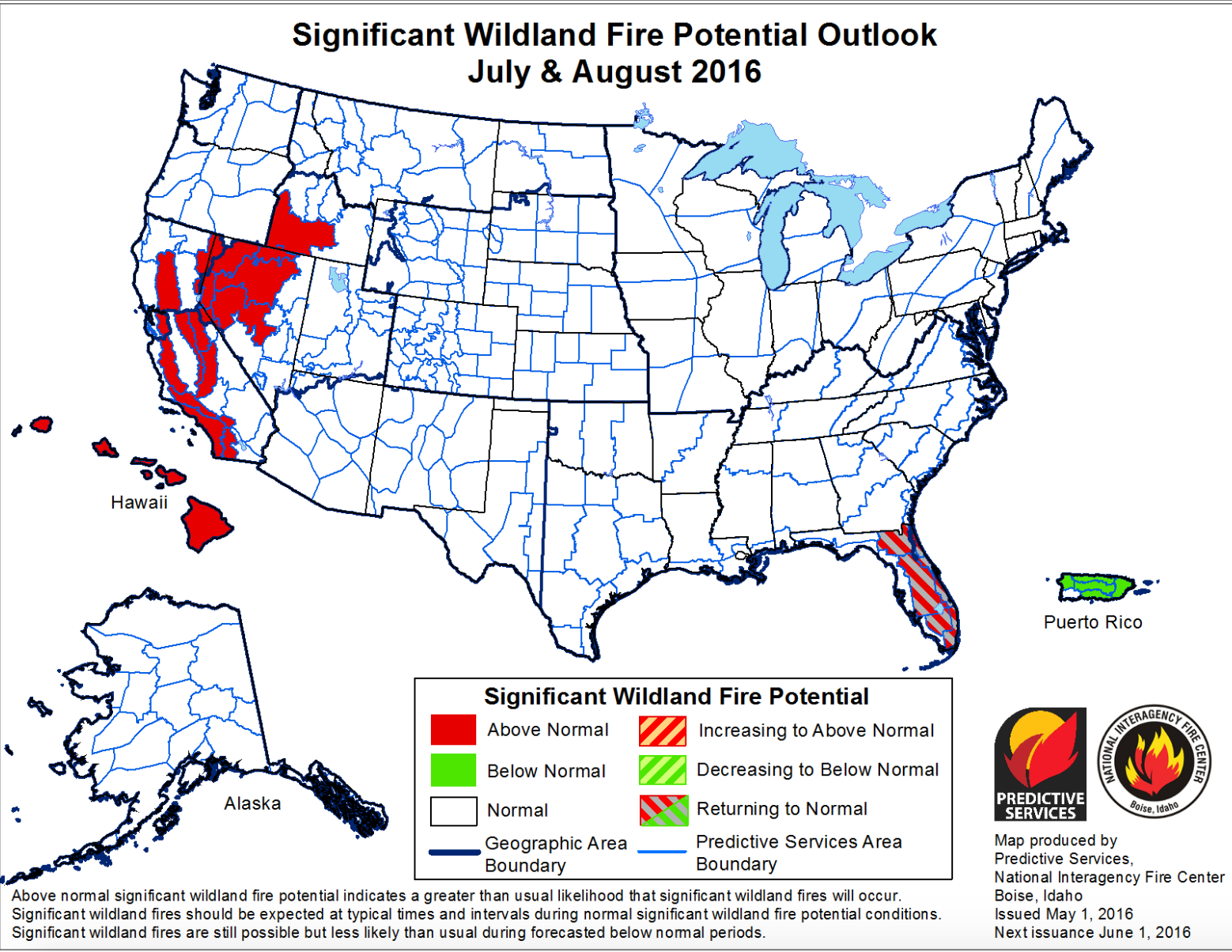 Wildfire Officials Predict Above Normal Fires In Idaho During Late