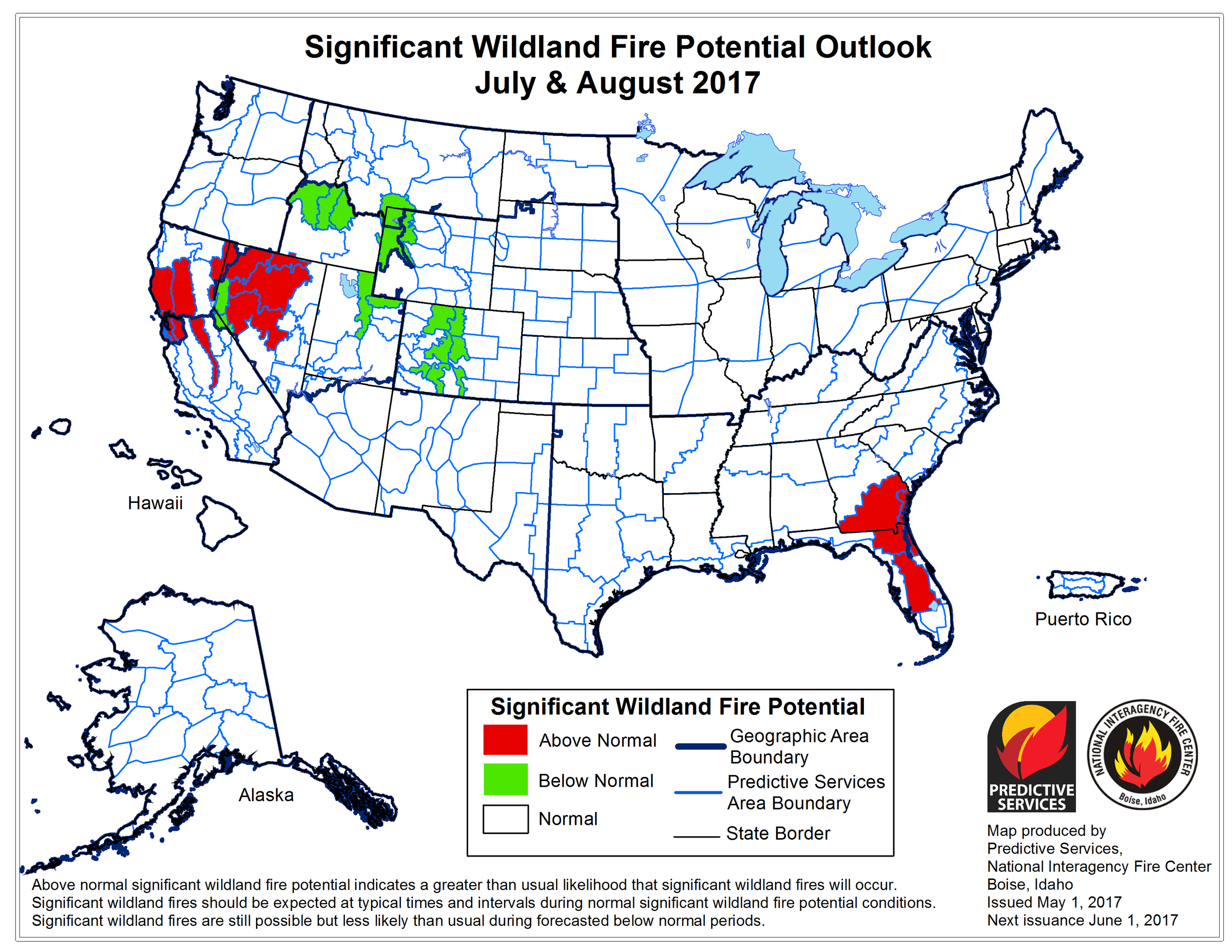 First Summer Fire Forecast Released For Idaho Boise State Public Radio