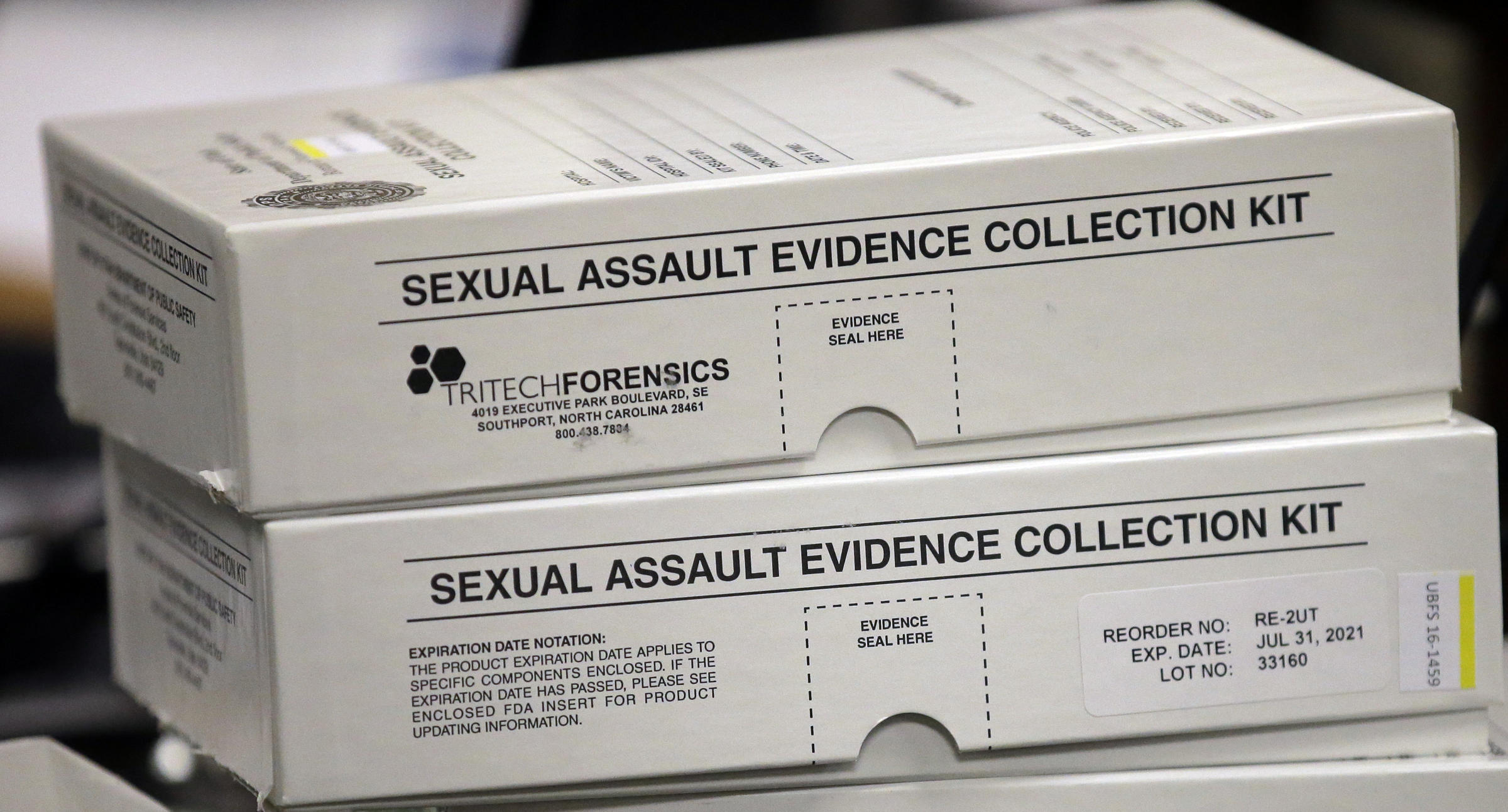 Sex crime evidence