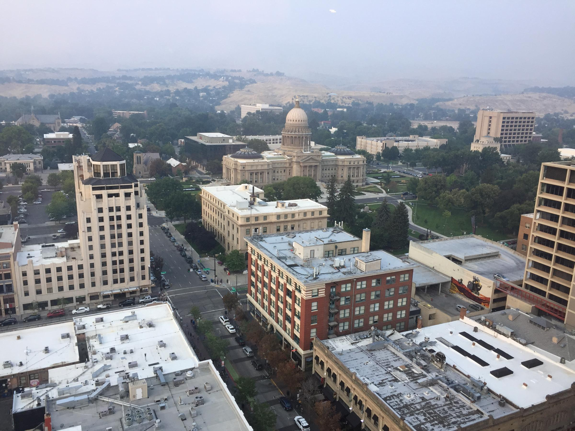 Smoke from wildfires causing unhealthy air conditions in Treasure Valley