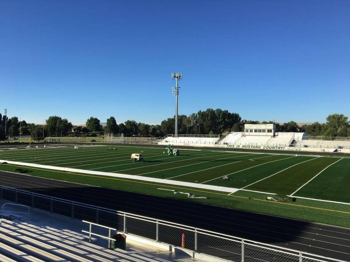 Officials Say Eagle High School Football Field Will Be ...