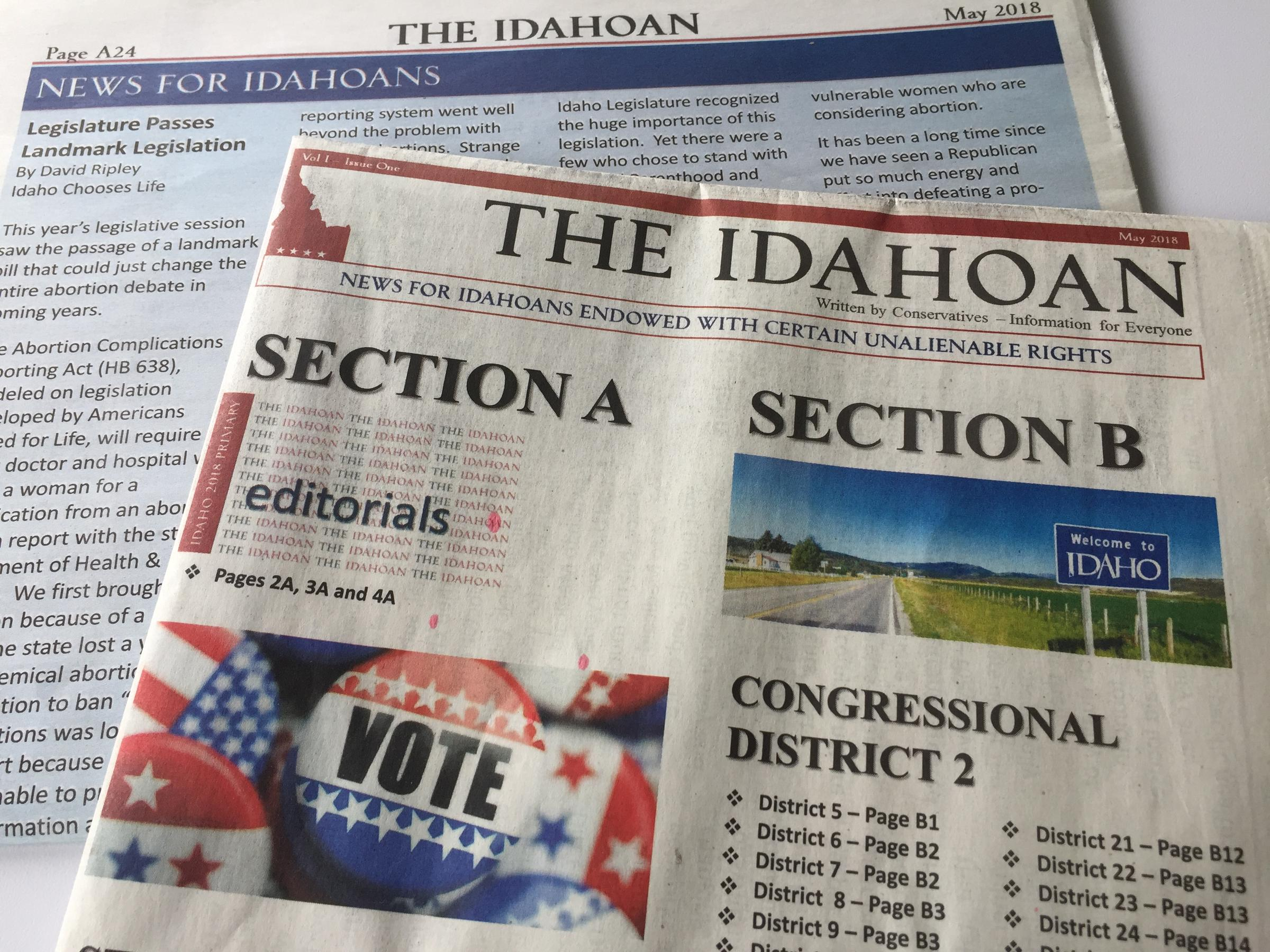 How conservative is idaho