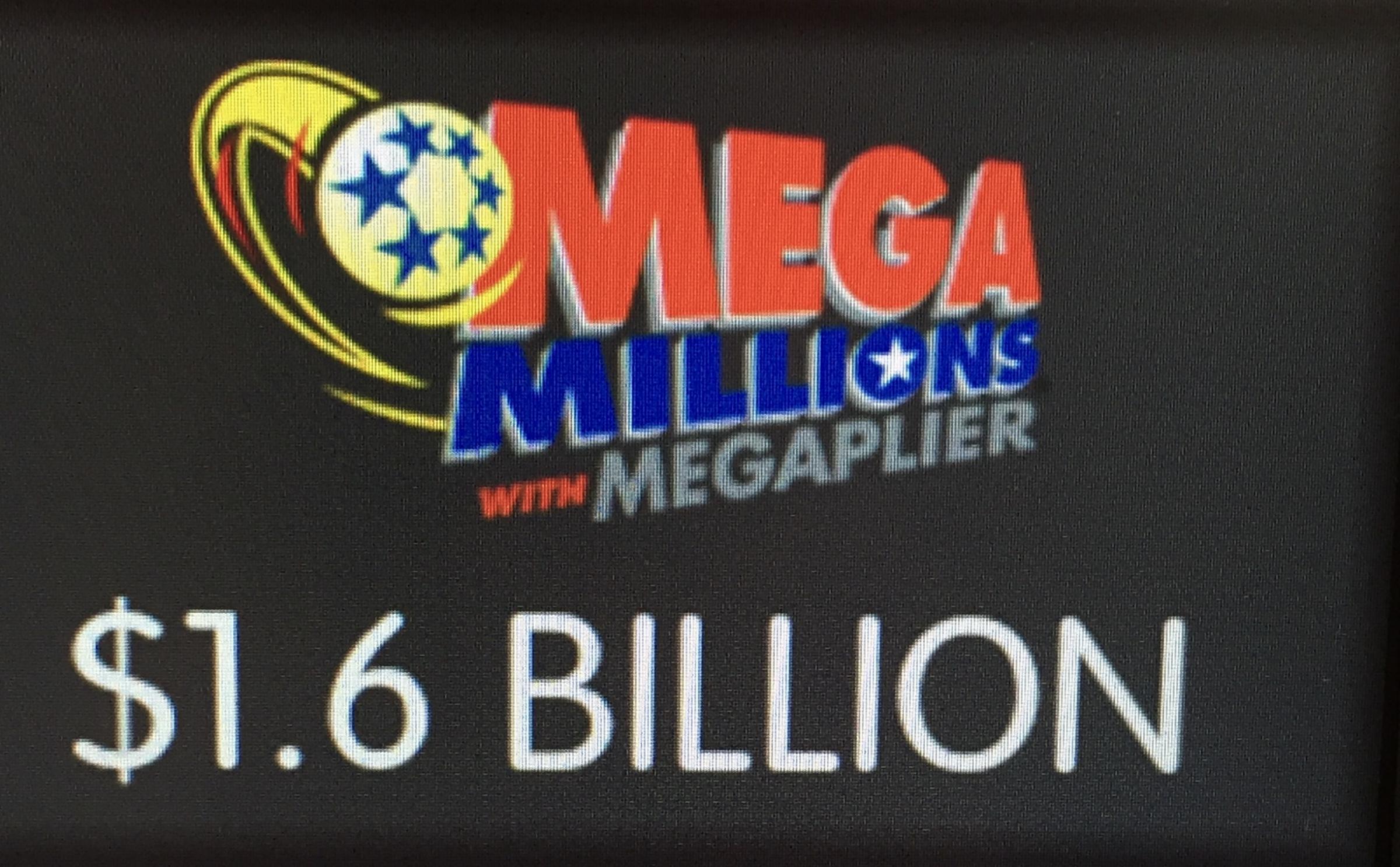 Winning $1.6B Mega Millions ticket sold in South Carolina