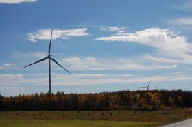 New wind turbines in Clinton, NY