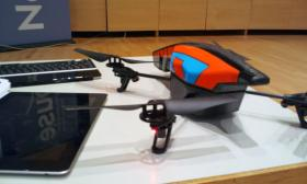 The AR Parrot 2.0 drone can be bought at Toys R Us or Amazon.com for $300.