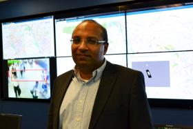 Dr. Kamal Bhattacharya, head of IBM's research lab in Kenya.