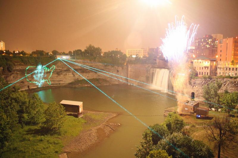 Laser light shows - like this one in Rochester - wouldn't be possible without lasers. Thankfully, lasers also do useful stuff.