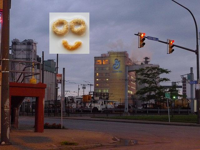 All U.S. east coast Cheerios are made in Buffalo, NY.
